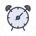 alarm, alert, clock, time, watch icon