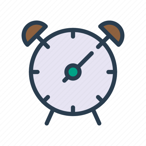 Alarm, time, watch, alert, clock icon