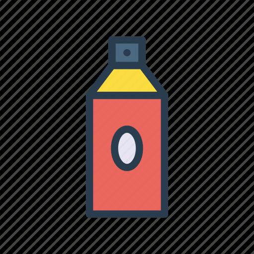 art, bottle, color, paint, spray icon