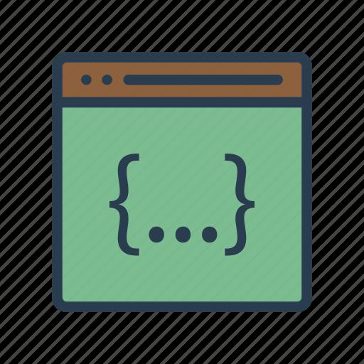 Browser, coding, development, internet, programming icon - Download on Iconfinder