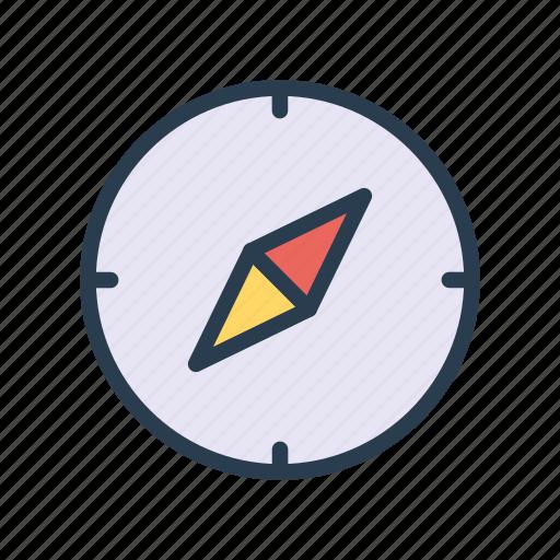 compass, direction, location, navigation, north icon