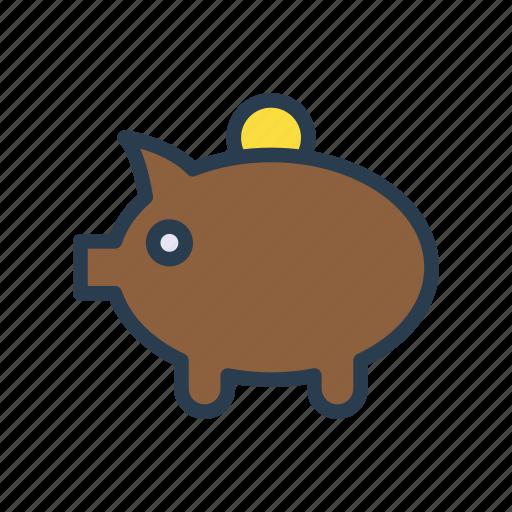 Bank, finance, money, piggy, saving icon - Download on Iconfinder