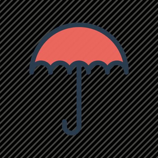 insurance, protection, rain, safety, umbrella icon