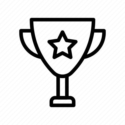achievement, award, cup, medal, trophy icon
