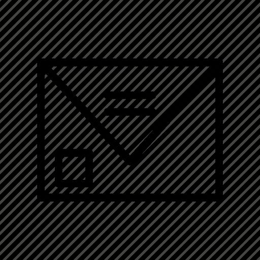 Envelope, inbox, letter, mail, message icon - Download on Iconfinder
