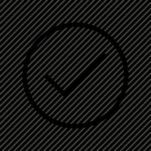 check, complete, done, ok, tick icon