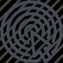 goal, objective, target, web, web design, website, www icon