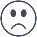 bad, opinion, rank, sad, web, web design, website icon