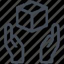 box, courier, delivery, web, web design, website, www icon