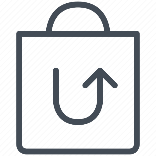 order, return, shopping bag, web, web design, website, www icon