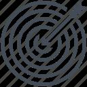 achievment, goal, objective, target, web, web design, website icon