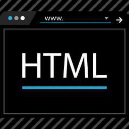 data, html, web, www icon
