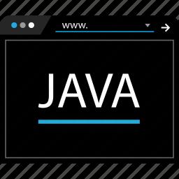 internet, java, web, www icon