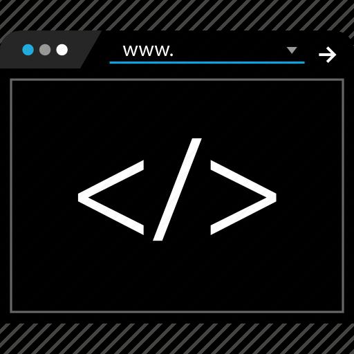 language, script, web, www icon