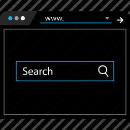 bar, find, google, search icon