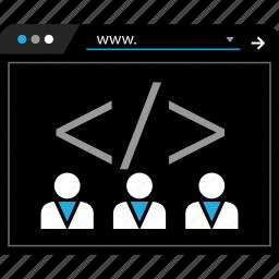 developers, start, startup, web icon