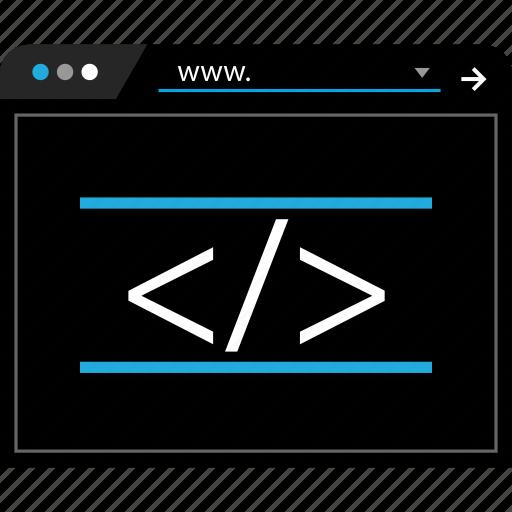 development, online, web, www icon