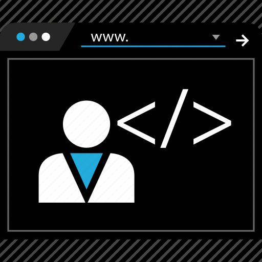 bar, data, user, web icon