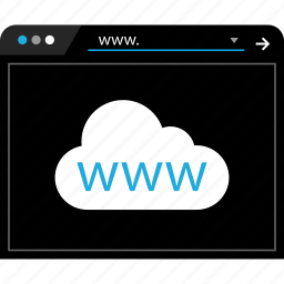 online, web, www icon