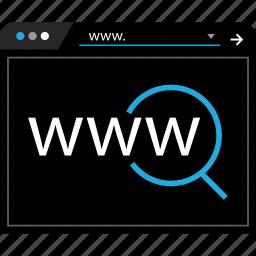 online, search, web, www icon