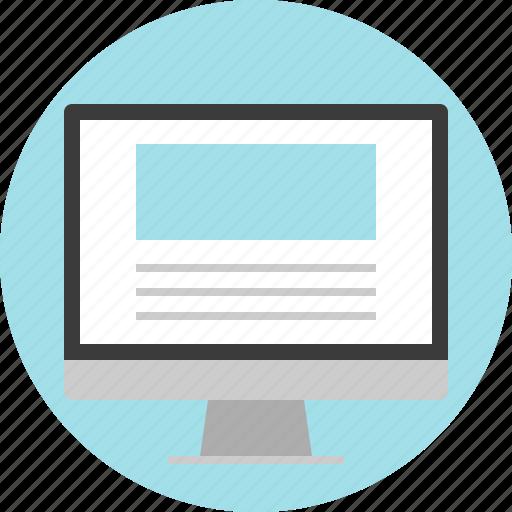 Monitor, online, website icon - Download on Iconfinder