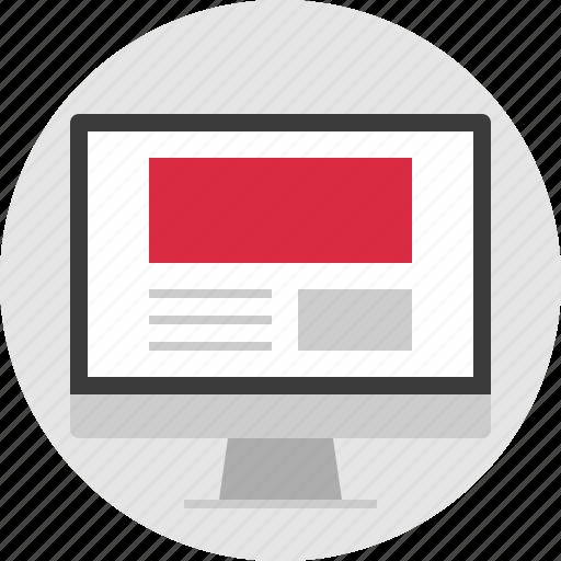 header, online, photo, website icon