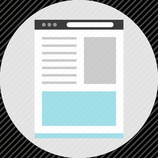 bottom, frame, layout, net, pc, photo, website icon