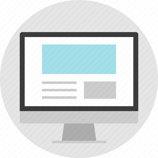 frame, layout, letter, net, news, pc, website icon