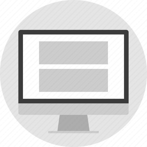 banners, frame, layout, net, pc, two, website icon