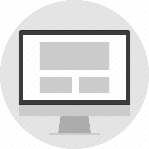 frame, layout, net, pc, website icon
