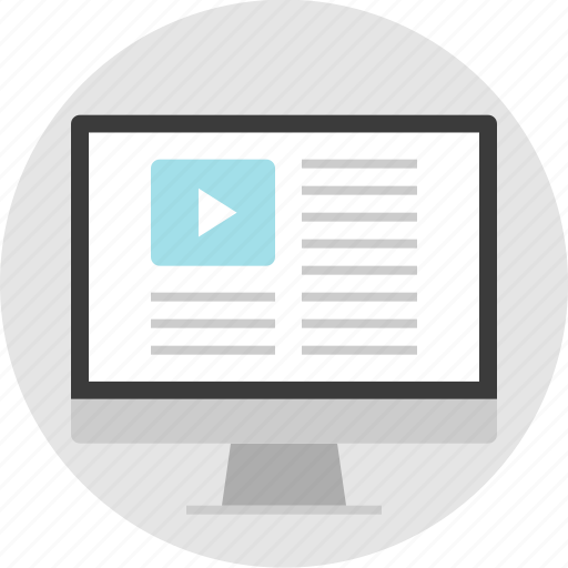 frame, layout, net, pc, video, website, youtube icon