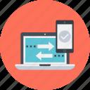 adaptive, design, laptop, mobile, responsive, web icon