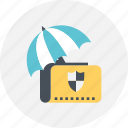 document, folder, project, protect, security icon