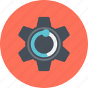cogwheel, creativ, creative, gear, process, setting, web icon