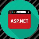 asp, aspnet, browser, development, language, net, web icon