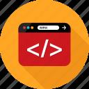 browser, code, coding, development, language, web