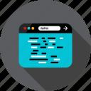 browser, code, development, language, lines, web
