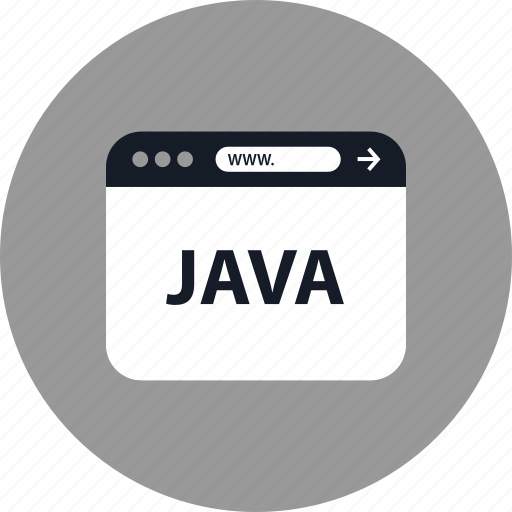 browser, coding, development, java, online, web, www icon