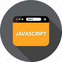 browser, development, javascript, language, program, script, web icon
