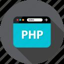 back, browser, development, end, language, php, web