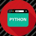 browser, development, language, program, python, script, web