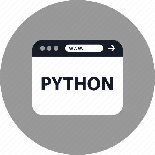 Browser, coding, development, online, python, web, www icon - Download on Iconfinder