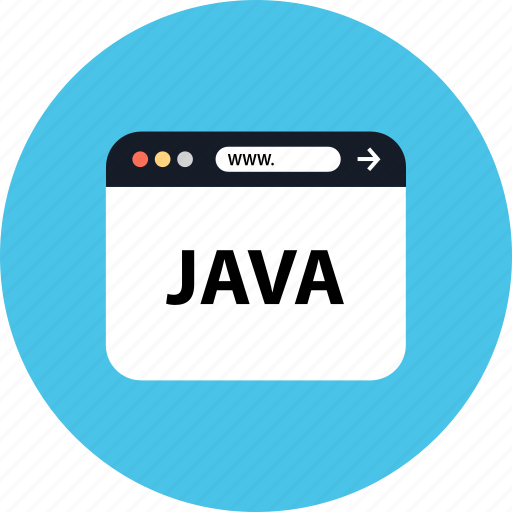development, java, seo, web icon