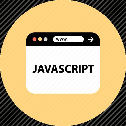 development, javascript, seo, web icon