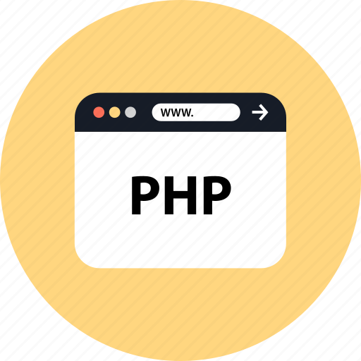 development, php, seo, web icon