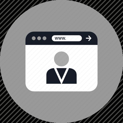 Browser, coding, development, online, user, web, www icon - Download on Iconfinder
