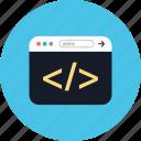 development, web, www, coding, bracket, online, browser