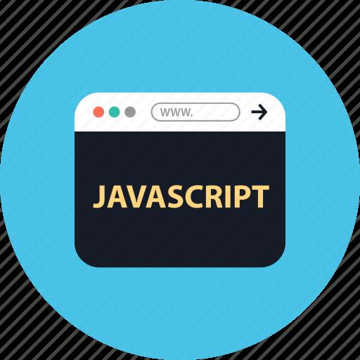 browser, coding, development, javascript, online, web, www icon