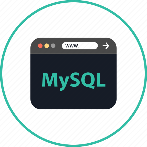 browser, coding, development, mysql, online, web, www icon