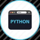 development, web, www, python, coding, online, browser